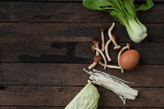 Verdure fresche e miste Fotografia Stock