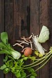 Verdure fresche e miste Fotografie Stock Libere da Diritti