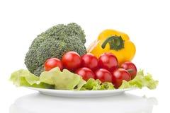 Verdure fresche e sane Immagini Stock
