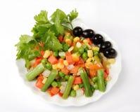 Verdure fresche e saporite fotografia stock libera da diritti