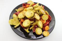 Verdure fritte Fotografia Stock