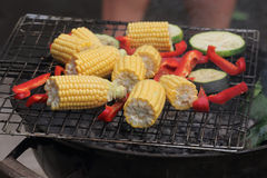verdure griled Fotografie Stock