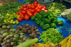 Verdure-Io assortite variopinte fotografie stock libere da diritti
