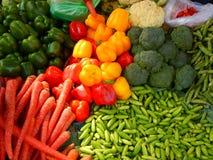 Verdure-Io fresche dell'azienda agricola immagine stock libera da diritti