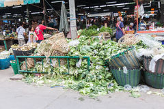 Verdure nel mercato come ingrediente in alimento o in animali domestici. Fotografie Stock Libere da Diritti