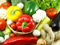 Verdure organiche Immagini Stock