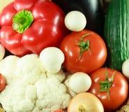 Verdure organiche sane Fotografia Stock Libera da Diritti