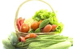 Verdure organiche sane Immagine Stock