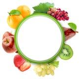 Verdure organiche sane e frutta immagine stock