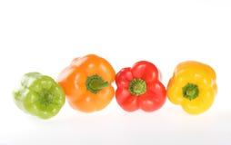Verdure, pepe bulgaro Fotografia Stock