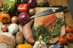 Verdure per cucinare Immagini Stock
