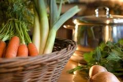 Verdure per minestra Fotografie Stock Libere da Diritti