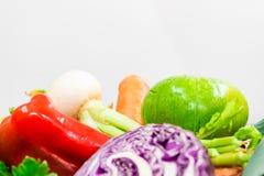 Verdure per produrre una minestra deliziosa immagini stock