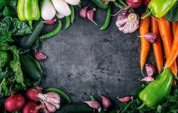 verdure Prodotto-verdure fresche di vegetables Fondo variopinto delle verdure Foto di verdure sana dello studio Assortimento degl Immagine Stock