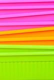 Verdure saltate multicolori fluorescenti Fotografia Stock