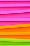 Verdure saltate multicolori fluorescenti Fotografia Stock Libera da Diritti