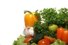 Verdure saporite fresche Immagini Stock