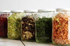 Verdure secche 3 degli ingredienti Immagine Stock
