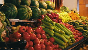 Verdure sul contro mercato