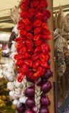 Verdure sul mercato, Italia Fotografia Stock Libera da Diritti