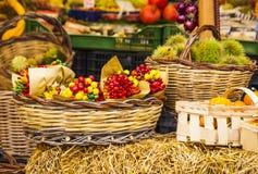 Verdure sul mercato, Italia Immagini Stock Libere da Diritti