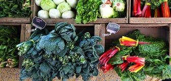 Verdure sulla vendita Fotografia Stock Libera da Diritti