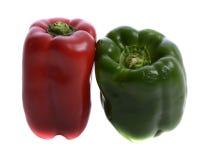 Verdure - verde e peperoni Fotografie Stock Libere da Diritti