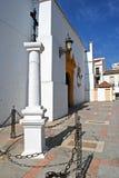 Verecruz kościół, Aguilar de los angeles Frontera Zdjęcie Royalty Free