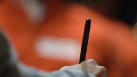 Veredicto de firma de observación criminal en su pena de muerte, castigo del juez de capital metrajes