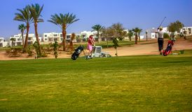 Verein Maritim Joli Ville Golf Lizenzfreie Stockfotos