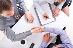 Vereinbarung Lizenzfreies Stockfoto