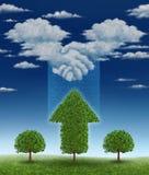 Vereinbarung für Wachstum Lizenzfreies Stockfoto