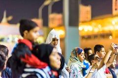 Vereinbarung 2015 Zündung Bahrain lizenzfreies stockbild