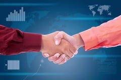 Vereinbarung des Erfolgs Lizenzfreies Stockbild