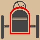 Vereinfachter Gokart Lizenzfreie Stockfotos