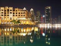 Vereinigte Arabische Emirate Dubai, vor Dubai-Mall stockfotografie