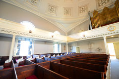 Vereinigte erste Gemeinde-Kirche, Quincy, Massachusetts Lizenzfreie Stockbilder