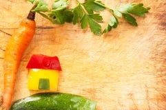 Vereinigte Schönheit des Gemüses Stockfotografie