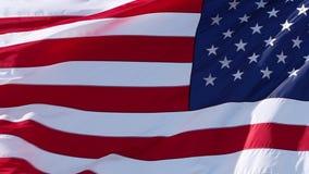 Vereinigte Staaten kennzeichnen stock footage