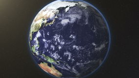 Vereinigte Staaten summen zur Erde laut stock abbildung