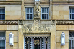 Vereinigte Staaten umwerben haus- Büffel, New York Lizenzfreie Stockfotografie