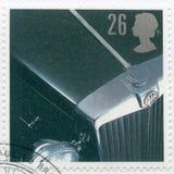 VEREINIGTES KÖNIGREICH - 1996: Shows MG TD, Reihe klassische britische Sport-Autos Stockbild