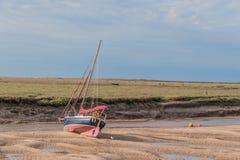 Vereinigtes Königreich - Wells als Nächstes das Meer Stockbild