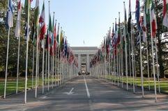 Vereinte Nationen in Genf Lizenzfreies Stockbild