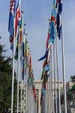 Vereinte Nationen in Genf Stockfoto
