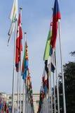 Vereinte Nationen in Genf Stockbilder