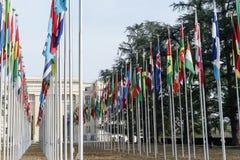 Vereinte Nationen in Genf Stockfotos