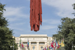 Vereinte Nationen Genfs die Schweiz Lizenzfreie Stockfotografie