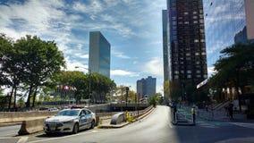 Vereinte Nationen, NYC, NY, USA Stockfotografie