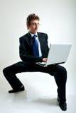 Vereis een bureau Stock Afbeelding